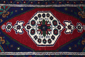 Vintage Mini Turkish Rug 1.10ftx3.5ft