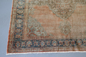 Old Konya Sille Turkish Rug 9.2ftx13.3ft