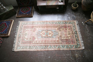 Old Sevan style Anatolian Rug 4.2ftx8ft