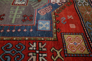 Old  Anatolian Yoruk Rug 5.4ftx9.7ft