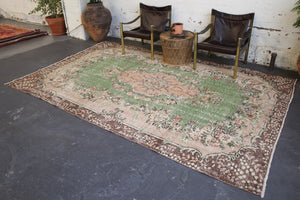 old rug, antique rug, earthy colors, faded colors, Turkish rug, vintage rug, worn out rug, distressed rug, Portland, Oregon, rug store, rug shop, local shop, pile rug