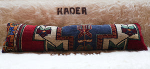 Lumbar Rug Pillow 12inx48in