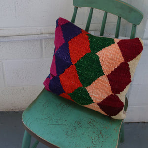 Kilim Pillow 15inx15in
