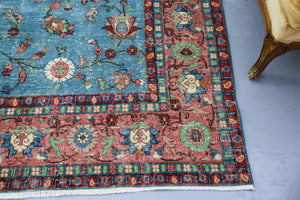 Old Isparta Rug 6.3ftx8.8ft