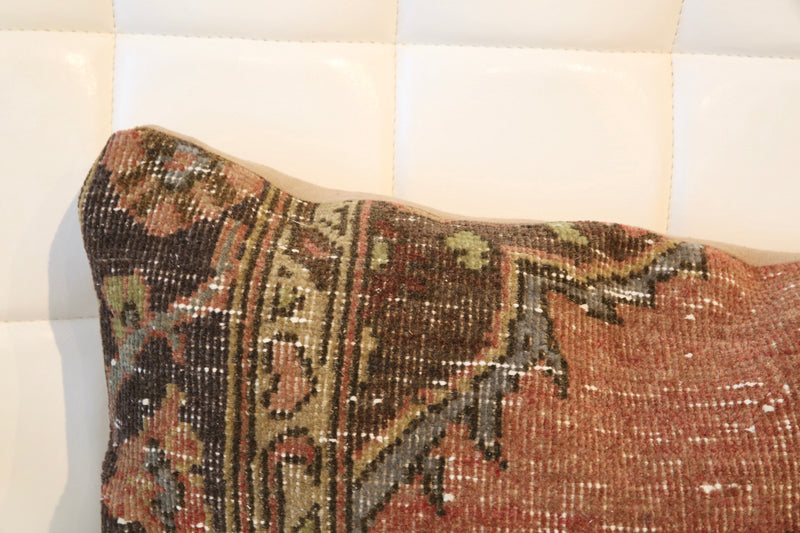 Lumbar Pile Rug Pillow 12inx48in