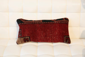 Lumbar Pile Rug Pillow 12inx24in
