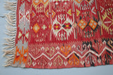 Vintage Turkish Afyon Kilim