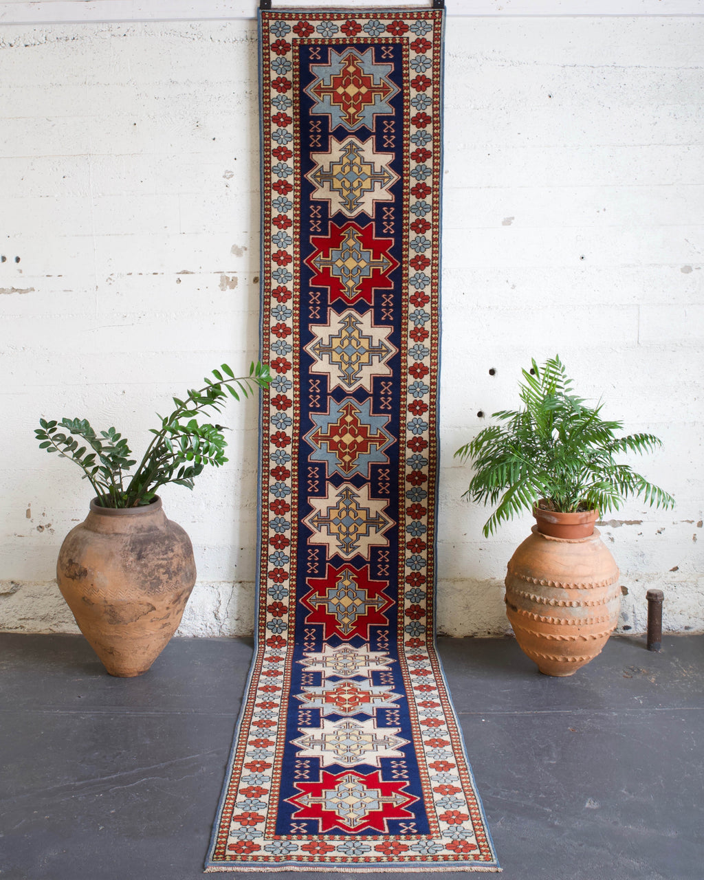 pile rug runner, Turkish rug, vintage rug, portland, rug shop, bright colors, wild shaman, runner rug, bold color, Portland, Oregon, rug store, rug shop, local shop, hallway runner, skinny runner