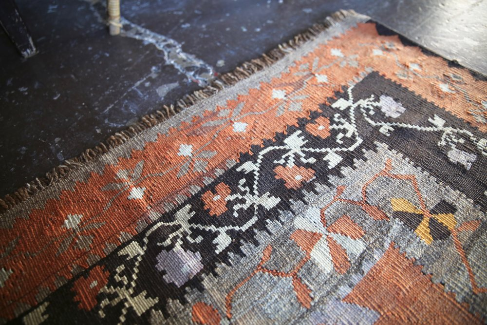 Old Kars Kilim 7ftx15ft