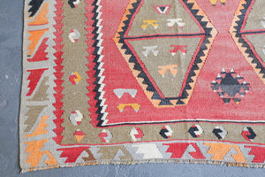 Old Sivas Sarkisla Turkish Kilim Rug