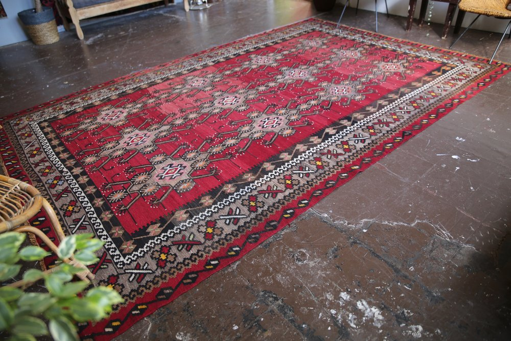 Old Maras Kilim 7.2ftx11.1ft