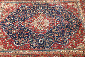 Old Persian Rug 6ftx8ft