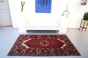 Old Antalya Dosemealti Rug 4ftx7ft