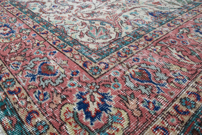 pile rug, turkish rug, vintage rug, portland, rug shop, wild shaman, area rug, worn out rug, earthy rug,