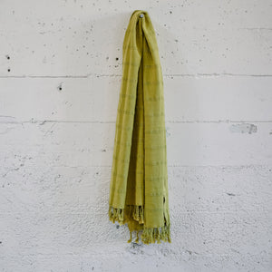Rustic Pestemal in Pistacho Green