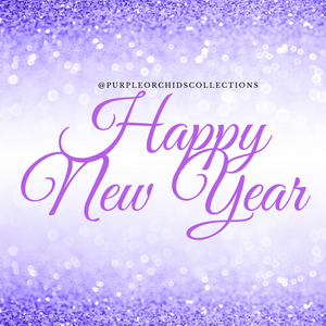 Happy New Year From Purple Orchids Collections