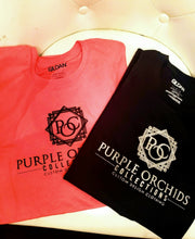 Purple Orchids Collections Signature Tee