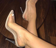 Clear Thangs Heels