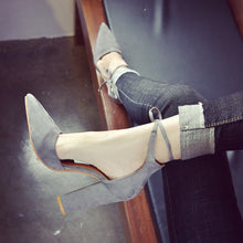 New women shoes basic style retro fashion high heels
