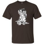Wire-haired Dachshund Cotton Unisex T-Shirt