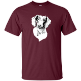Dachshund Unisex Cotton T-Shirt