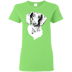 Dachshund Cotton Ladies' T-Shirt