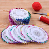 Round Pearl Head Pins (480 Pcs)