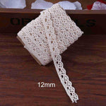 5m Ivory Cream Lace Fabric