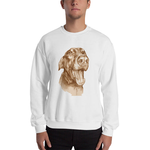 Doberman Sweatshirt Men Shirt Worldwide Shipping size S-5X