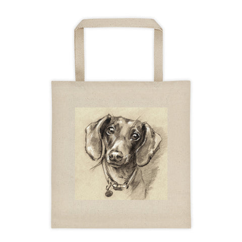 Dachshund Art • Tote bag