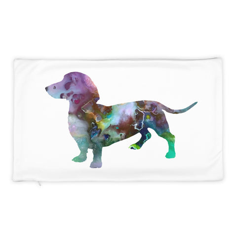 Dachshund Art Pillow Case Pillowcase Soft Polyester (Pillow Case only)