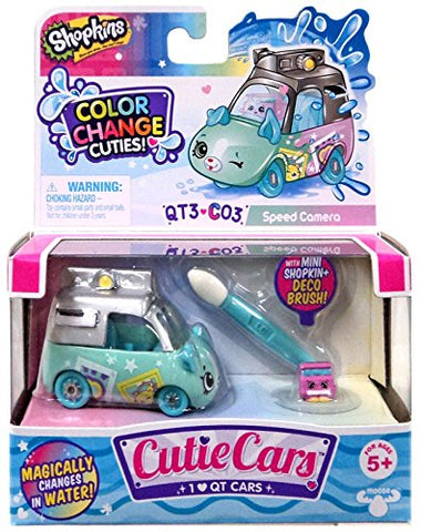 Shopkins Cutie Cars Series 3 Color Change Cuties QT3-C03 Speed Camera