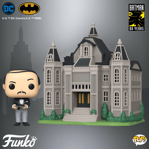 Wayne Manor with Alfred Funko Pop Town