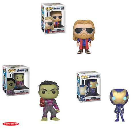 Marvel's Avengers: Endgame Funko Pops (NEW WAVE)