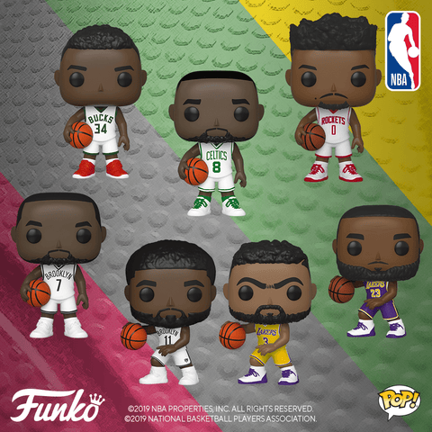 NBA Funko Pops (Fall-Winter 2019 Wave)