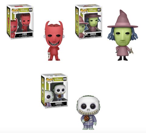 Nightmare Before Christmas Funko Pop Bundle