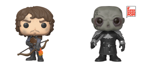 Game of Thrones Funko Pops (Theon and The Mountain)
