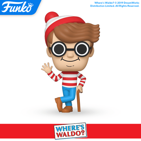 Where's Waldo Funko Pop