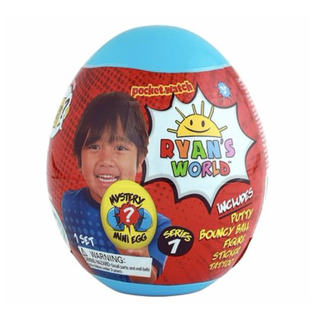 Ryan's World Surprise BLUE MINI Mystery Egg