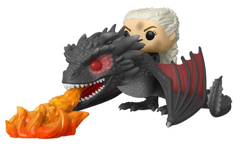 Daenerys on Fiery Drogon Funko Pop