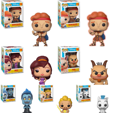 Hercules Funko Pop Bundle with CHASE