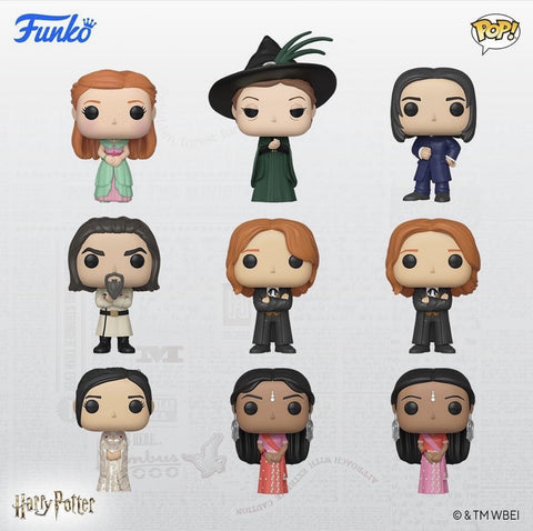 Harry Potter Yule Ball Funko Pops