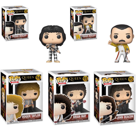 Queen Funko Pop BUNDLE