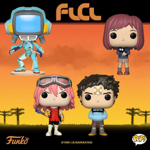 FLCL Funko Pop BUNDLE