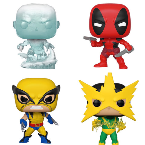 Marvel 80th First Appearance Funko Pops (NEW WAVE)