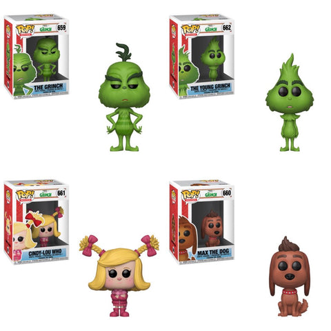 The Grinch Funko Pops
