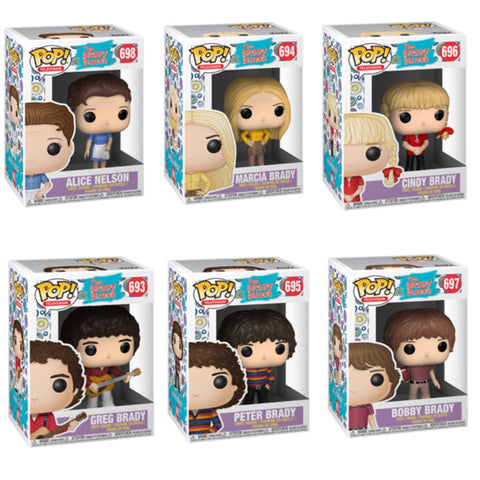 The Brady Bunch Funko Pop BUNDLE