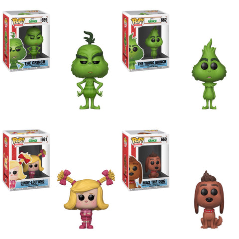 The Grinch Funko Pop BUNDLE