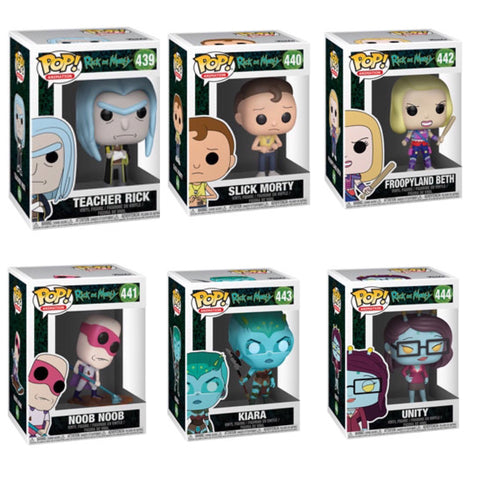 Rick and Morty NEW Funko Pop BUNDLE
