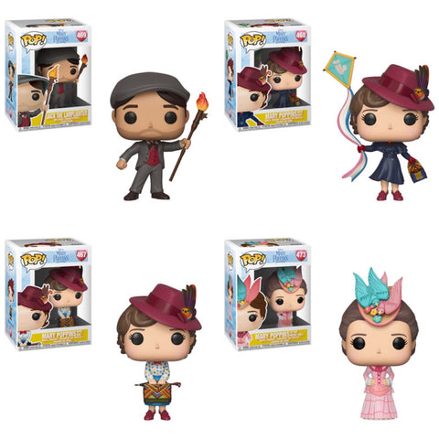 Mary Poppins Returns Funko Pop BUNDLE
